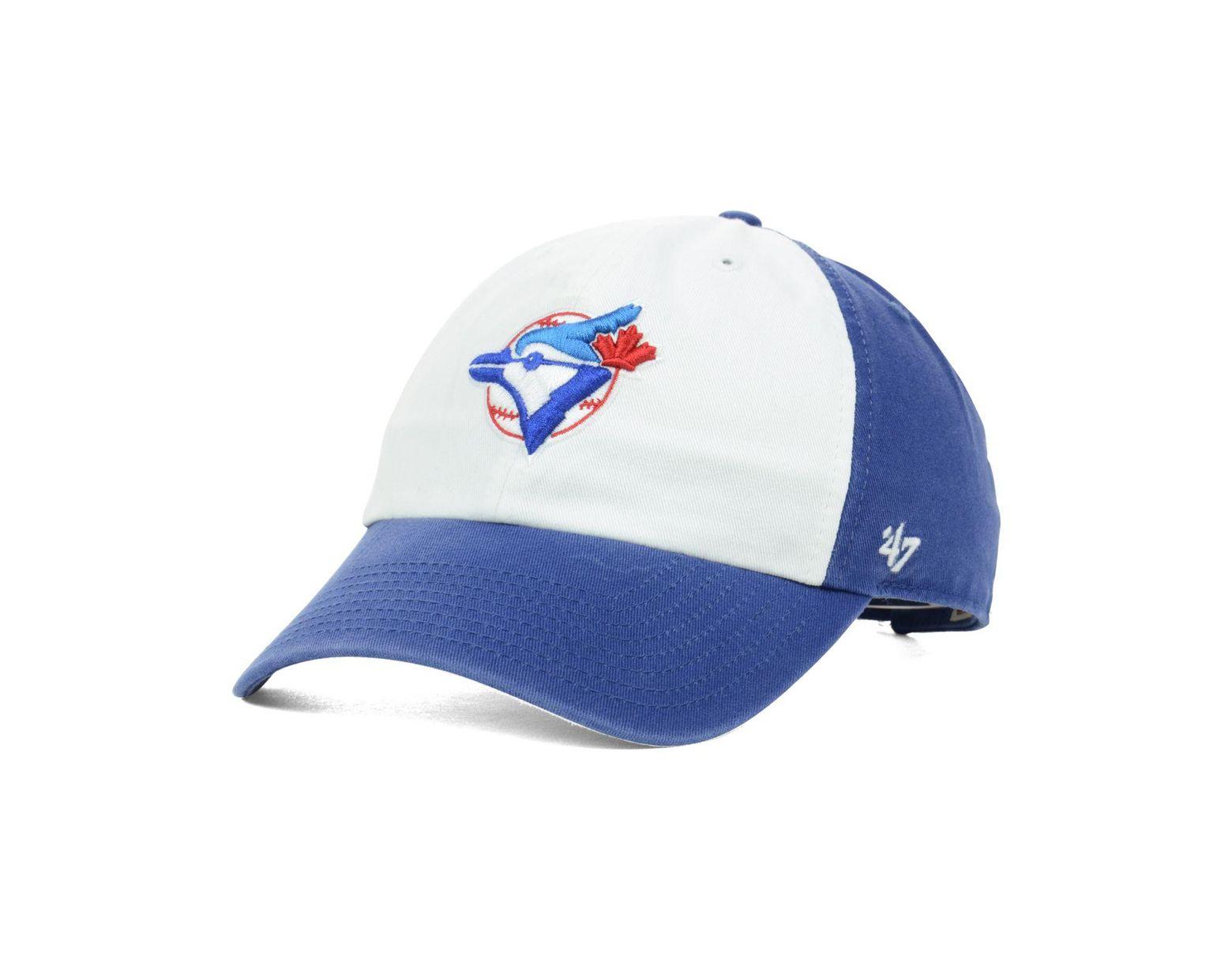 1e4dd75fe Men's White Toronto Blue Jays Clean Up Cap