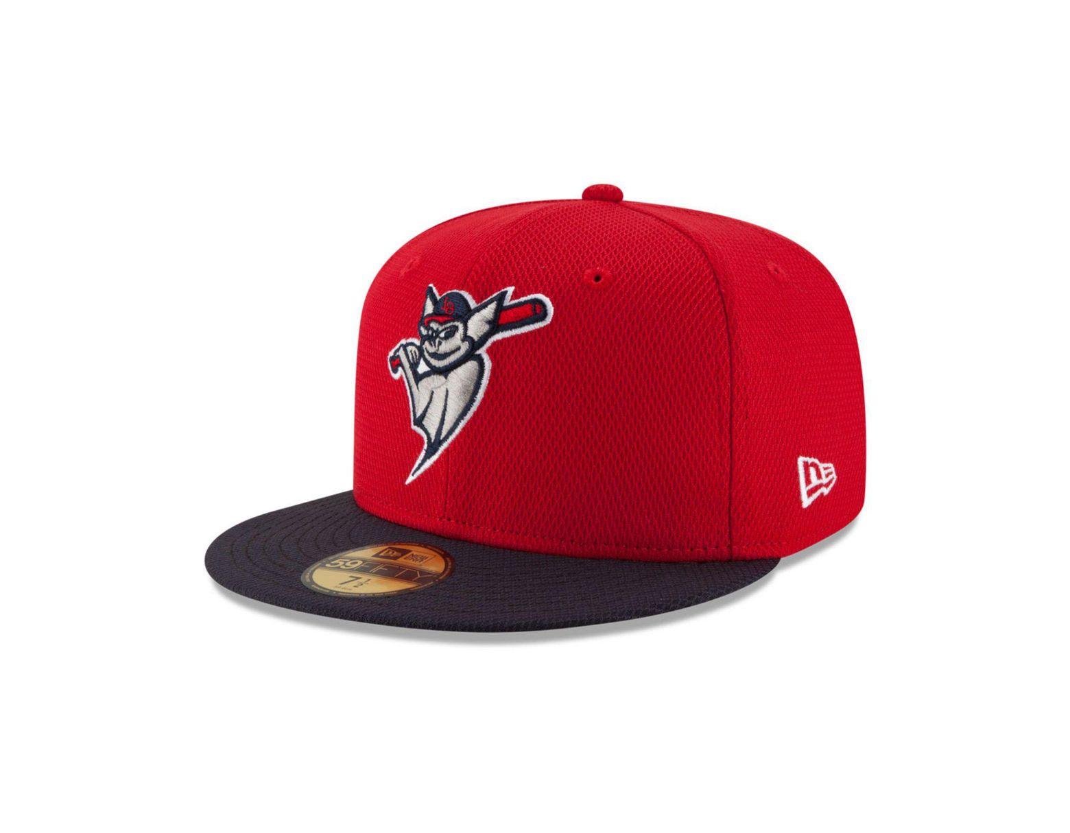 new styles e6313 cba1b KTZ Louisville Bats Ac 59fifty Cap in Red for Men - Lyst