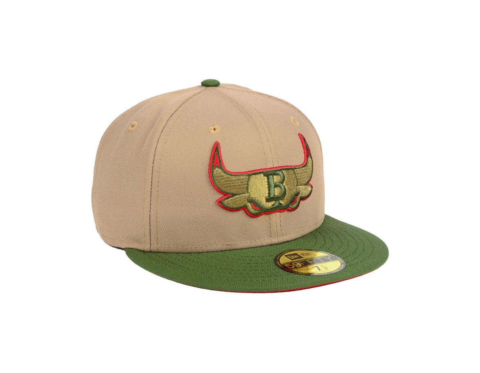the best attitude 40502 225be KTZ Chicago Bulls Fall 2 Tone Combo 59fifty-fitted Cap in Green for Men -  Lyst