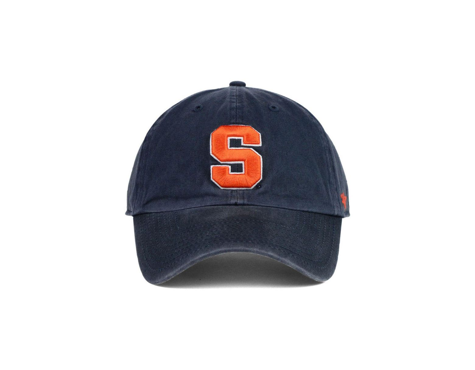 new products 71bf6 1e562 47 Brand Syracuse Orange Clean Up Cap in Blue for Men - Lyst
