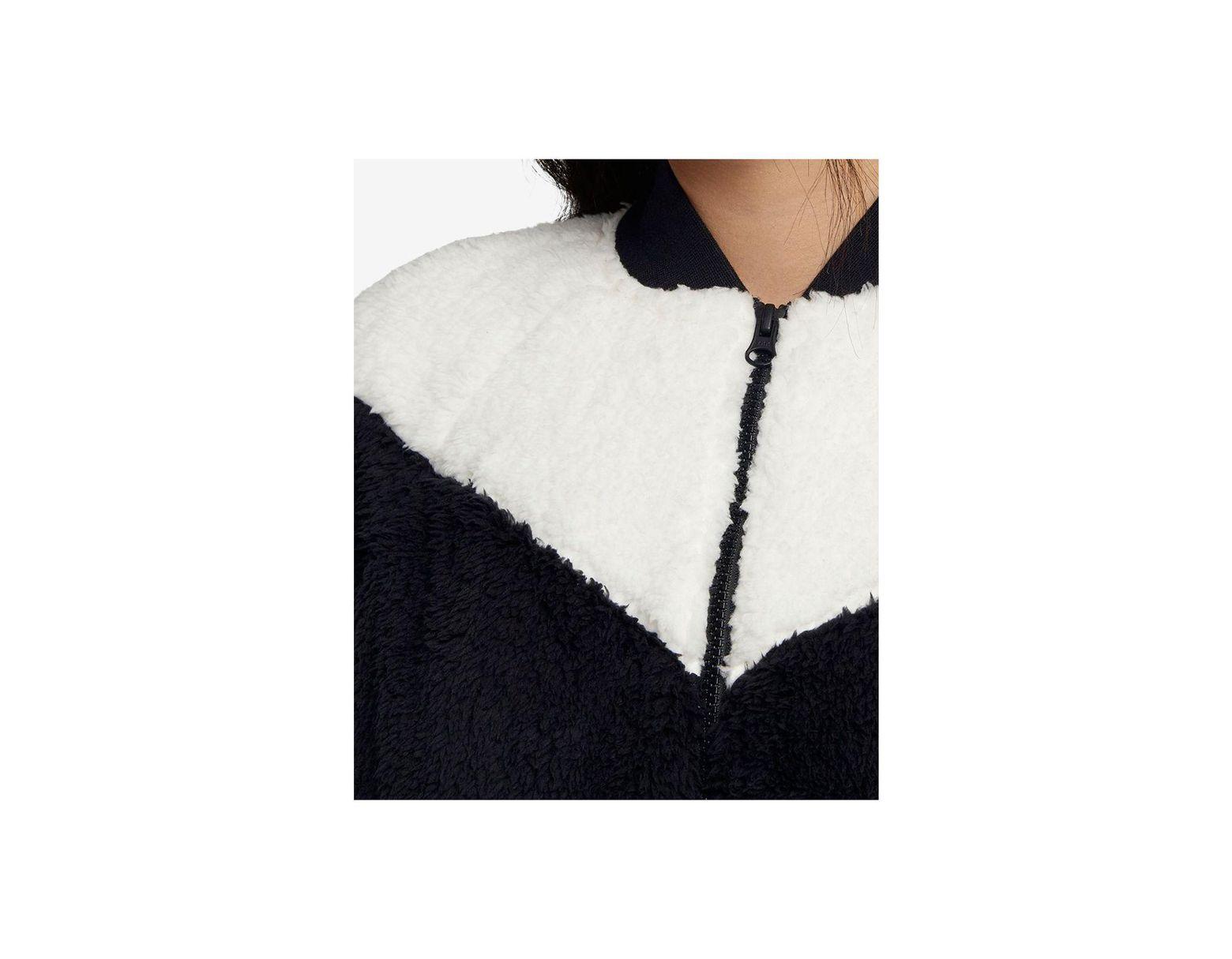 e78acf7ea Women's Black Sportswear Fleece Bomber Jacket