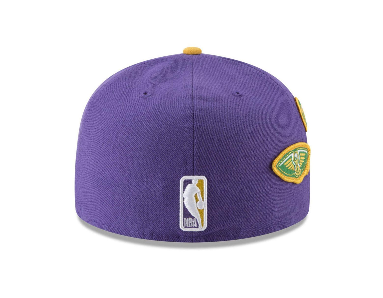 new product 7f4d5 8b638 KTZ New Orleans Pelicans City On-court 59fifty Fitted Cap in Purple for Men  - Lyst