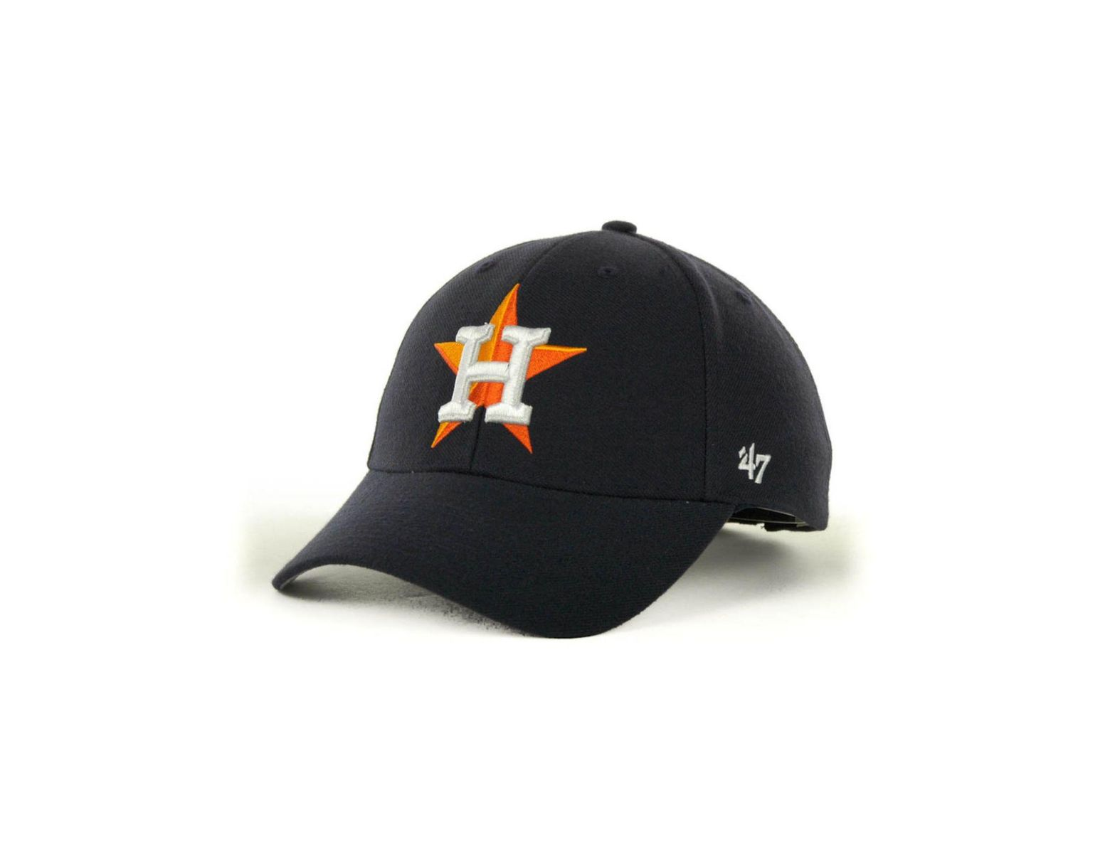 online store 8f1a3 4a79e 47 Brand Houston Astros Mvp Curved Cap in Blue for Men - Lyst