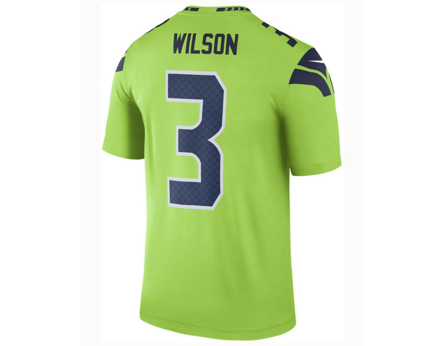 new concept 2b631 a9aa6 Green Nfl Seattle Seahawks Color Rush Limited (russell Wilson) Men's  Football Jersey