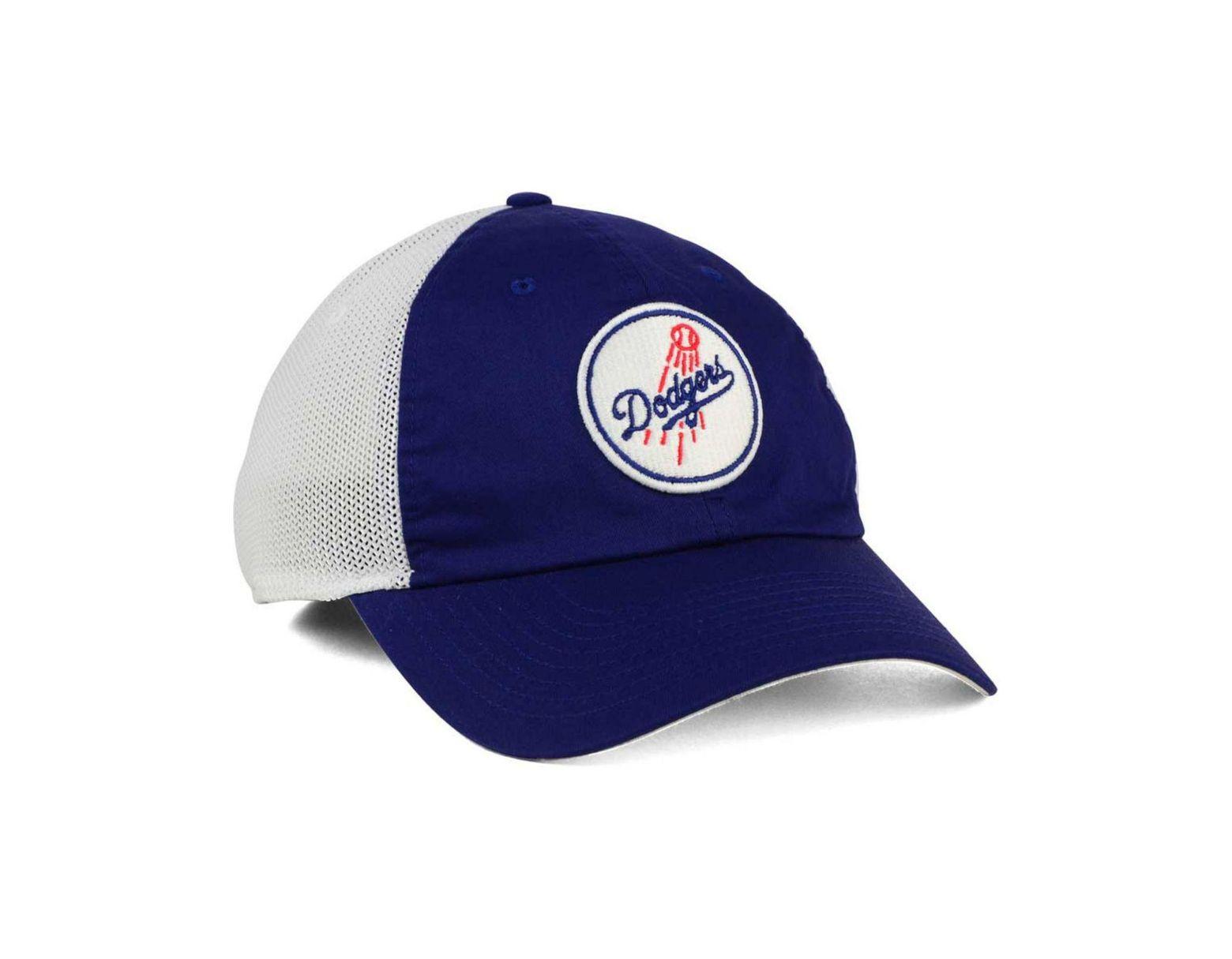 e31edd826 Men's Blue Los Angeles Dodgers Dri-fit Mesh Swoosh Adjustable Cap