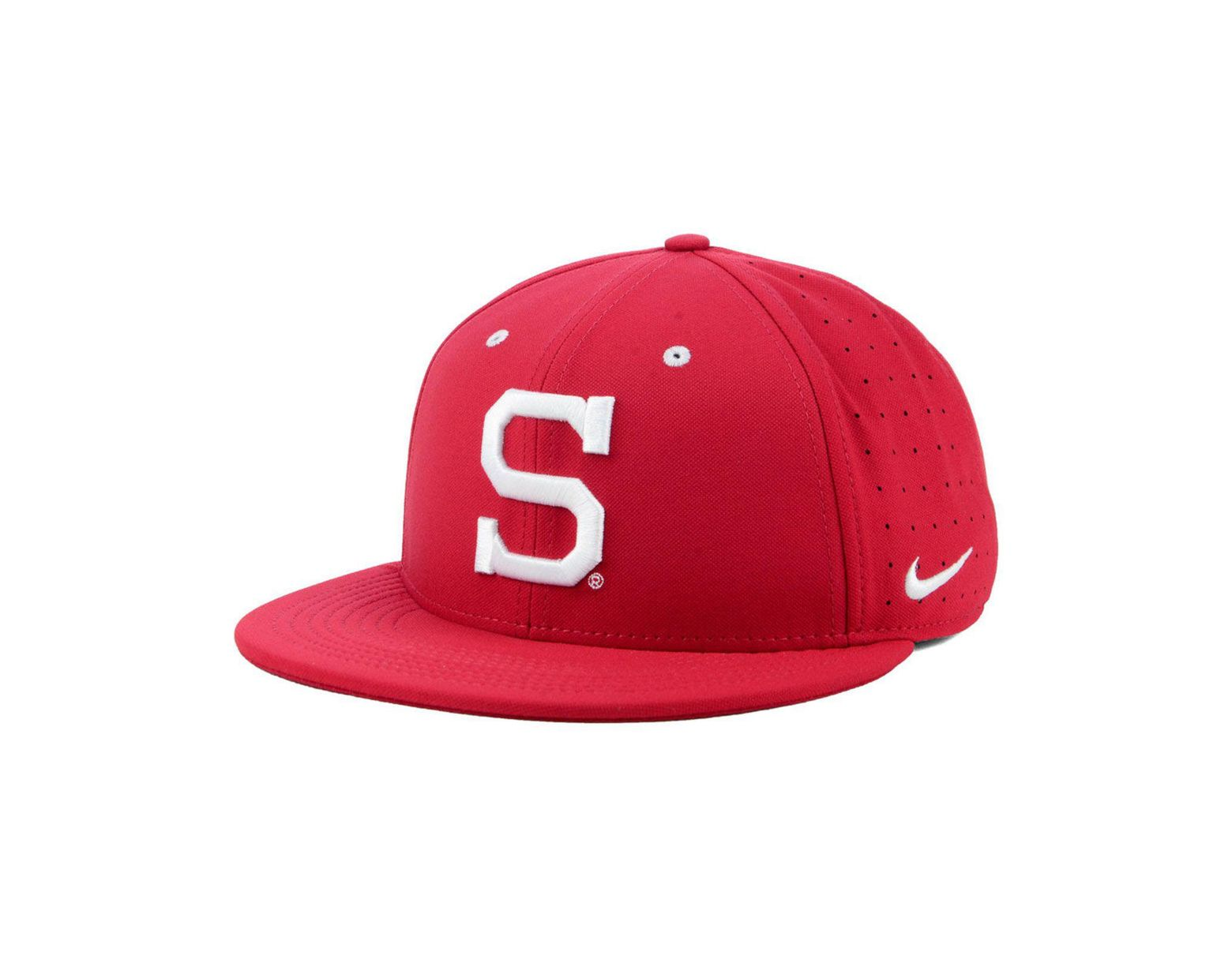 71dcfd42ad0aed Nike Stanford Cardinal Aerobill True Fitted Baseball Cap in Red for Men -  Lyst