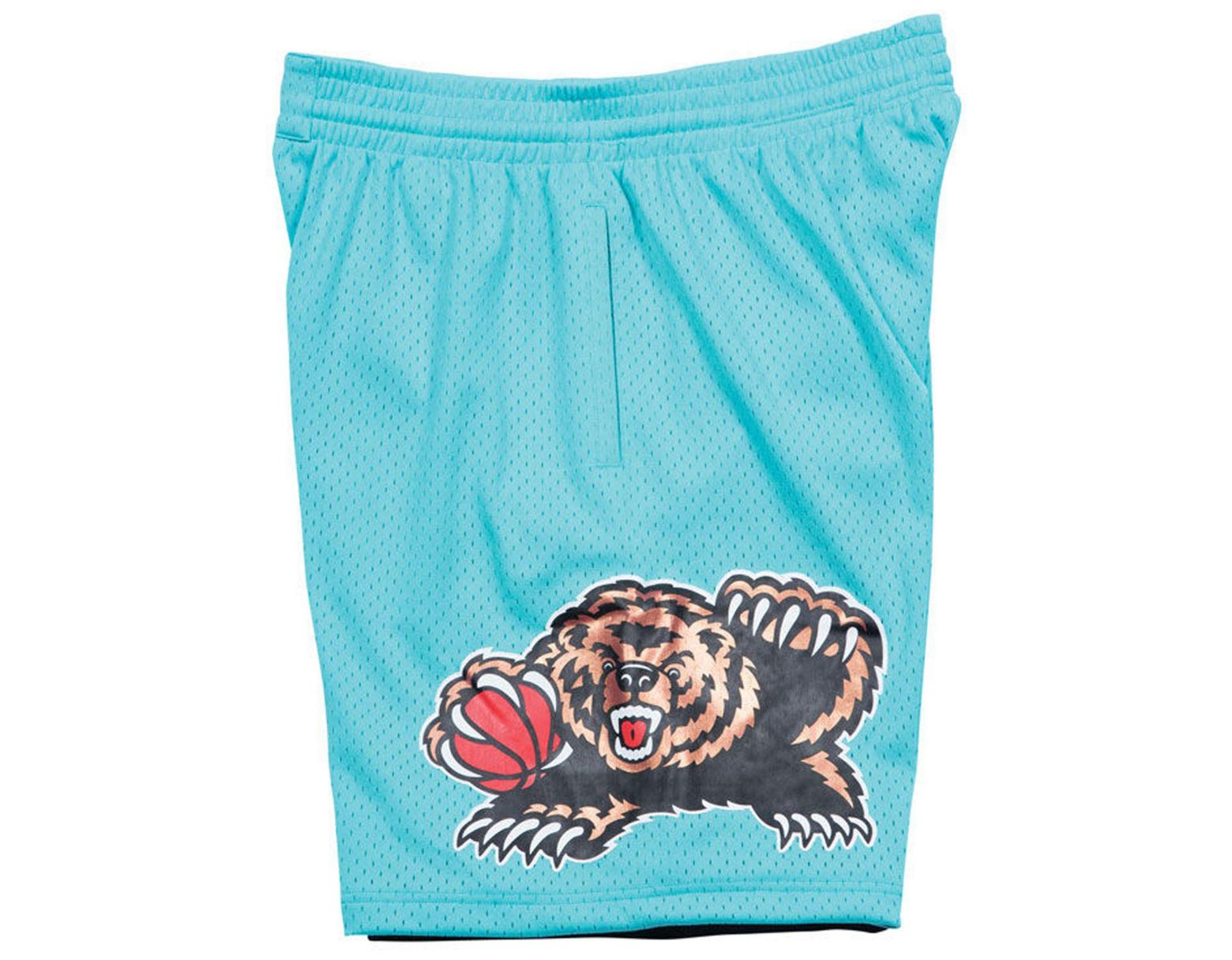 f26bdcc6cfc0e Mitchell & Ness Vancouver Grizzlies Swingman Shorts in Blue for Men - Lyst