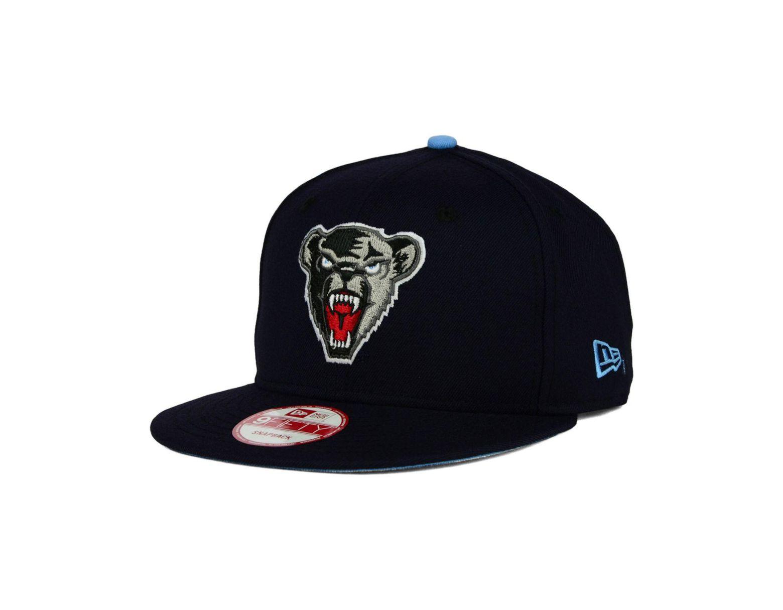 732f7336 Men's Blue Maine Black Bears Core 9fifty Snapback Cap