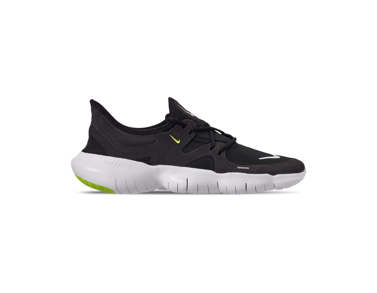 quality design 8e370 b628d Nike Free Rn 5.0 Running Sneakers From Finish Line in Black for Men - Lyst