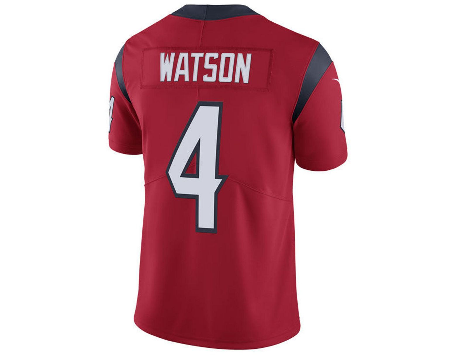 92cd5ea7 Men's Red Deshaun Watson Houston Texans Vapor Untouchable Limited Jersey
