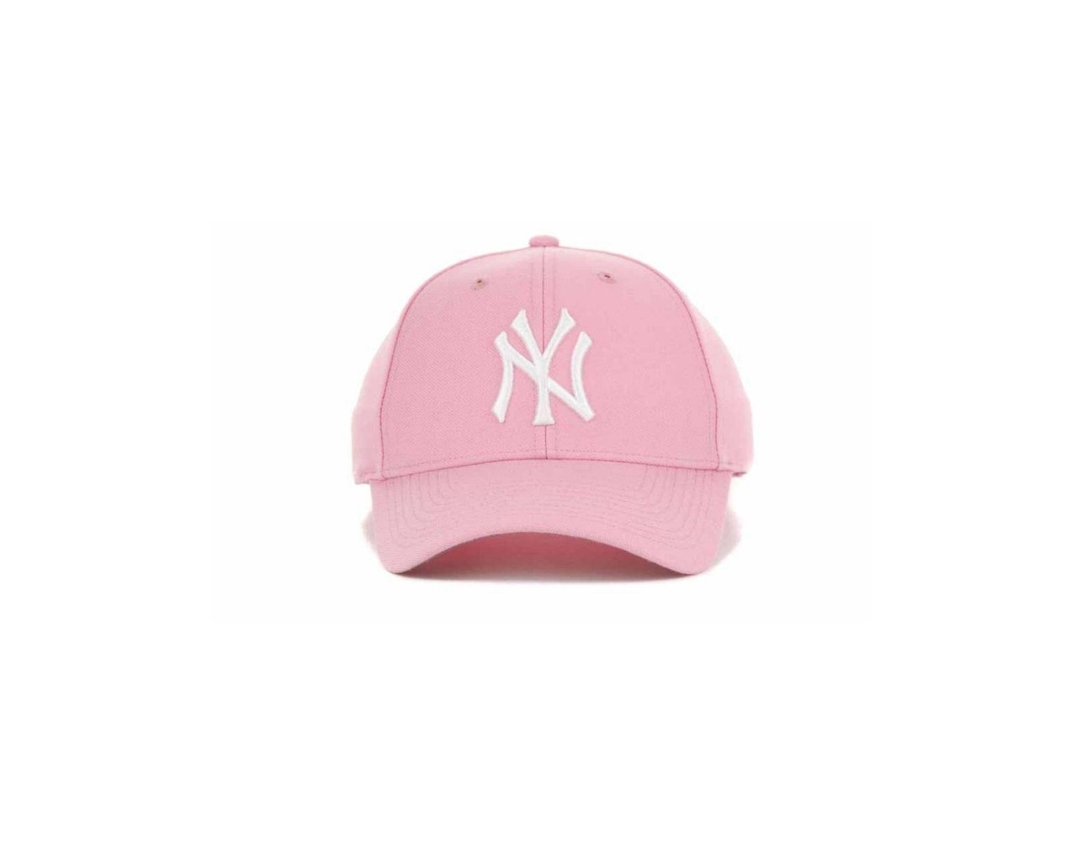 a6cfc7fac19343 47 Brand New York Yankees Mvp Curved Cap in Pink - Lyst