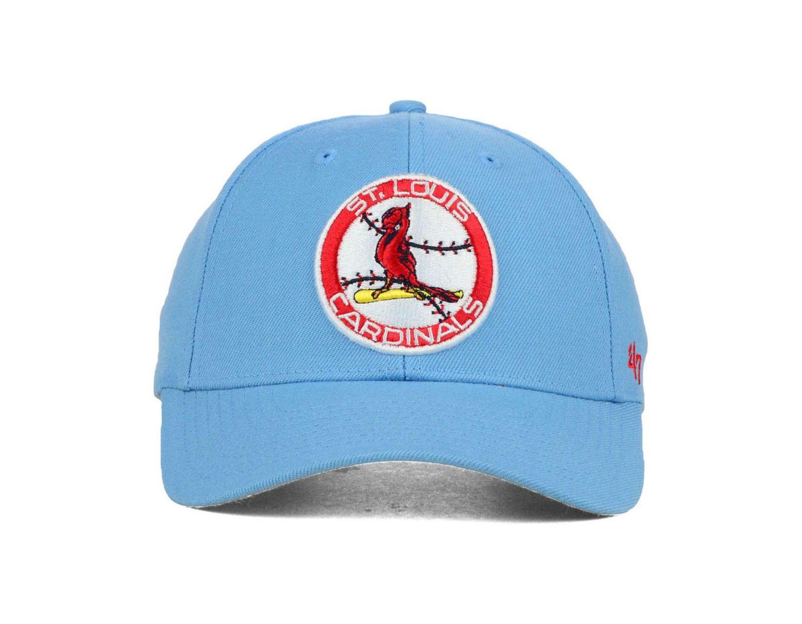 88fccb35 Men's Blue St. Louis Cardinals Mvp Curved Cap