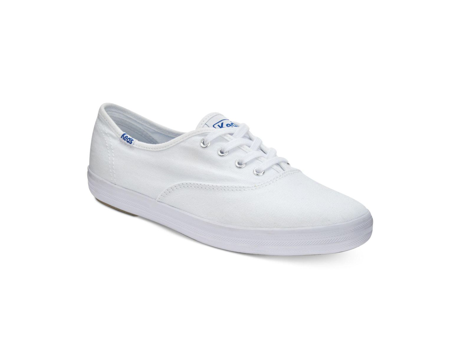 a667ea3fa40b5 Keds Champion Ortholite® Lace-up Oxford Fashion Sneakers in White - Lyst