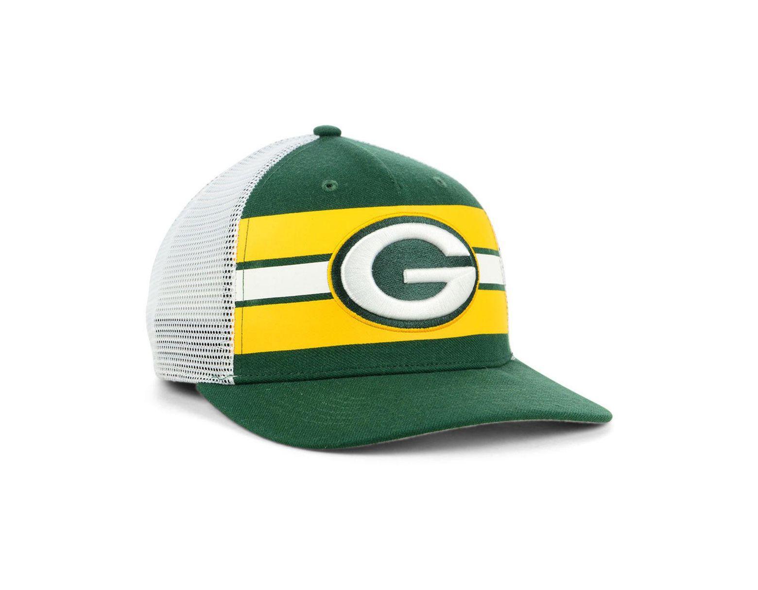 3d5f0c14 Men's Green Bay Packers Team Stripe Mvp Cap