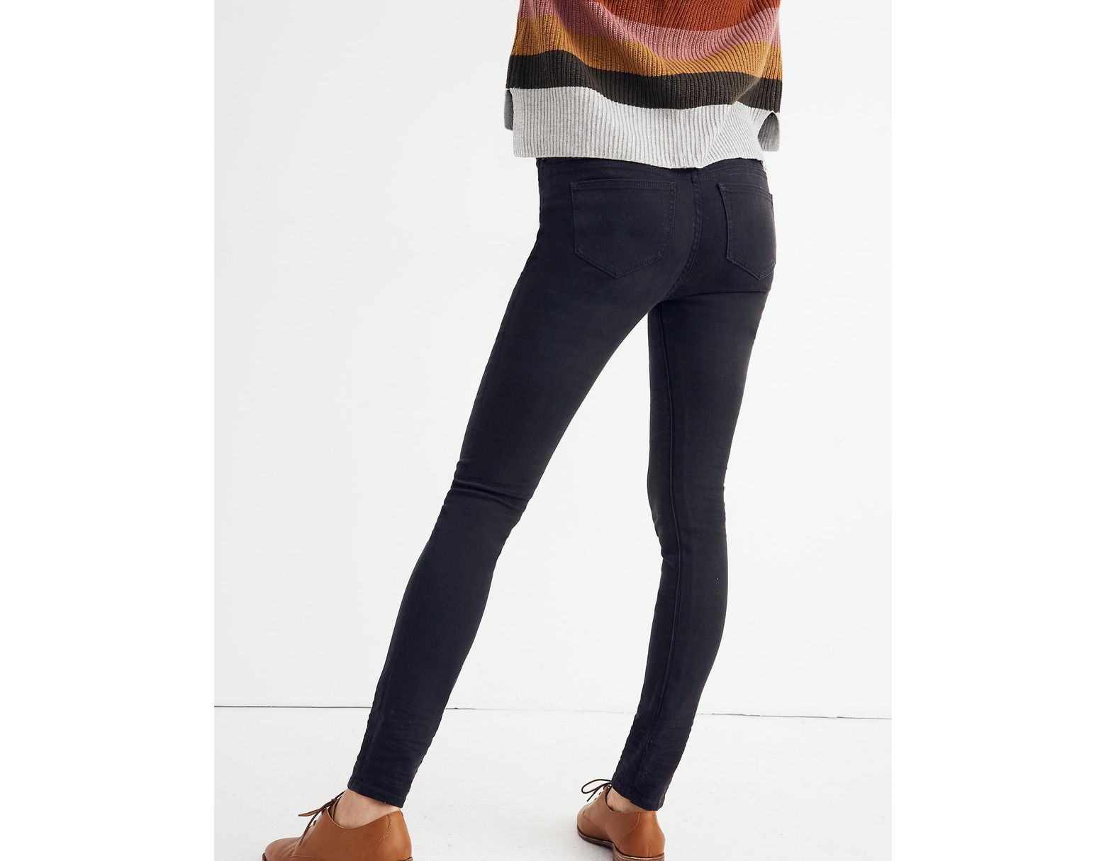b7ab6fd4f2180 Lyst - Madewell Maternity Over-the-belly Skinny Jeans In Lunar Wash:  ™ Edition in Blue