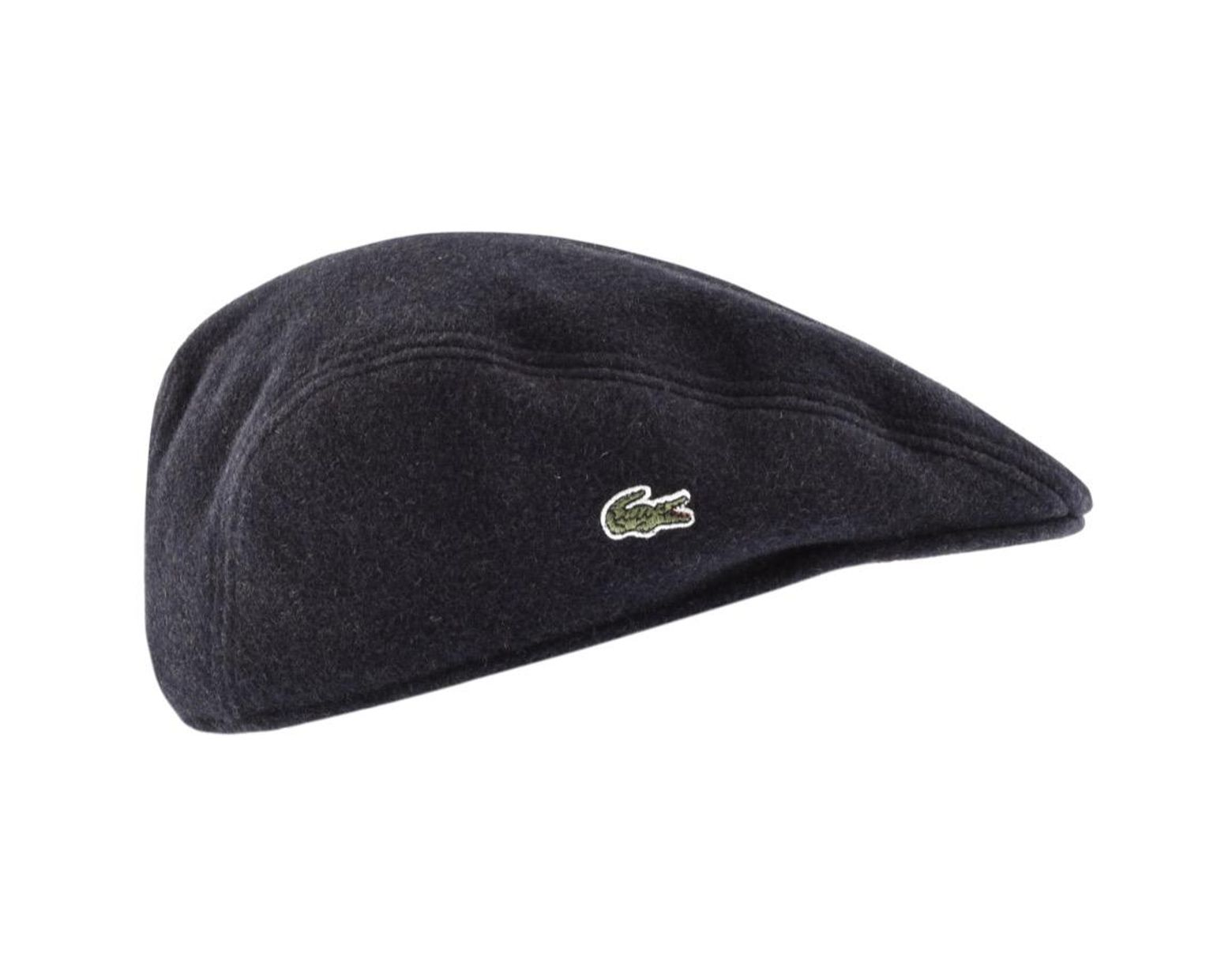 bc3b720e Lacoste Flat Cap Navy in Blue for Men - Lyst