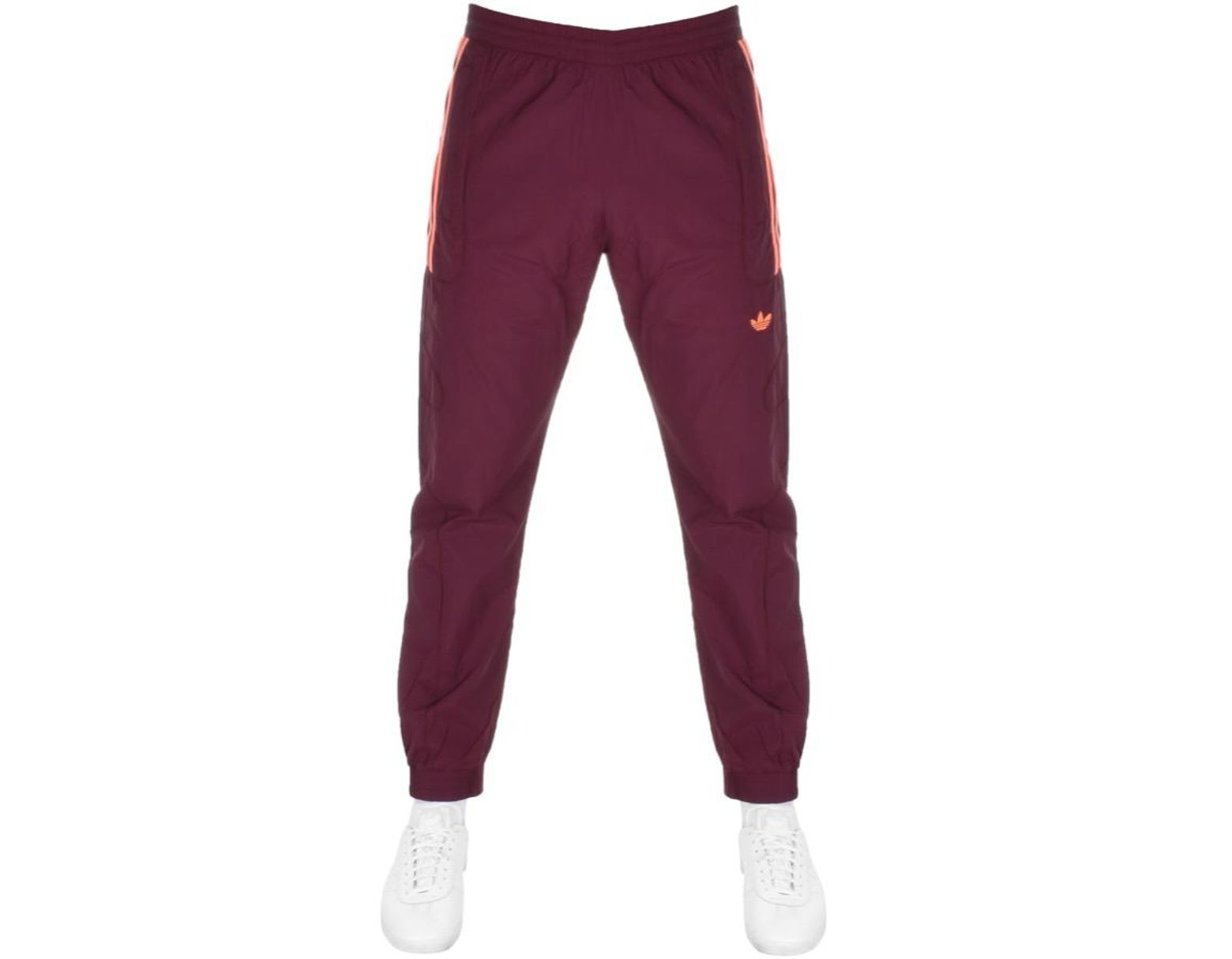 Maroon New Mens adidas  Flamestrike Trackpants