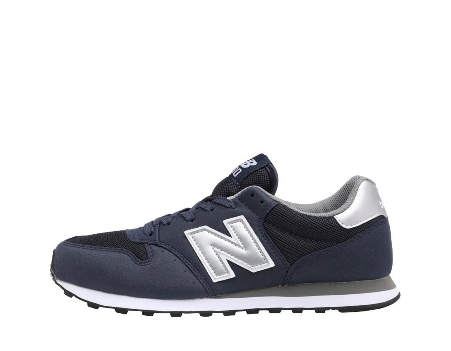 b8be46775e495 New Balance 500 Trainers Navy in Blue for Men - Lyst