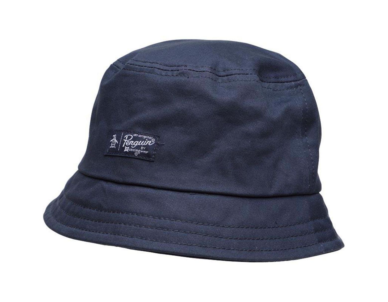 e1c24b1c12c4f Original Penguin Bucket Hat Dark Sapphire in Blue for Men - Lyst