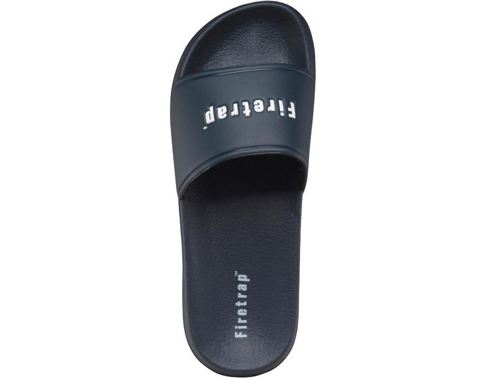 a85045007 Firetrap Pool Slide Sandals Navy in Blue for Men - Lyst