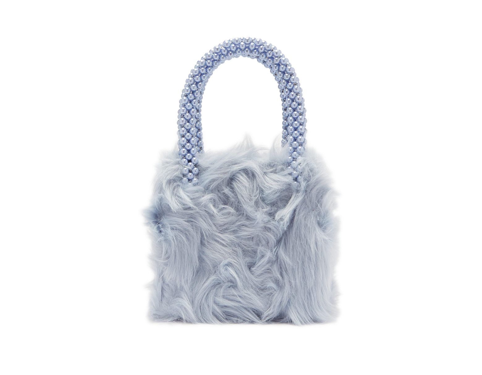 Halley Femme Coloris Fourrure Imitation En De Sac Bleu oeBWrdxC