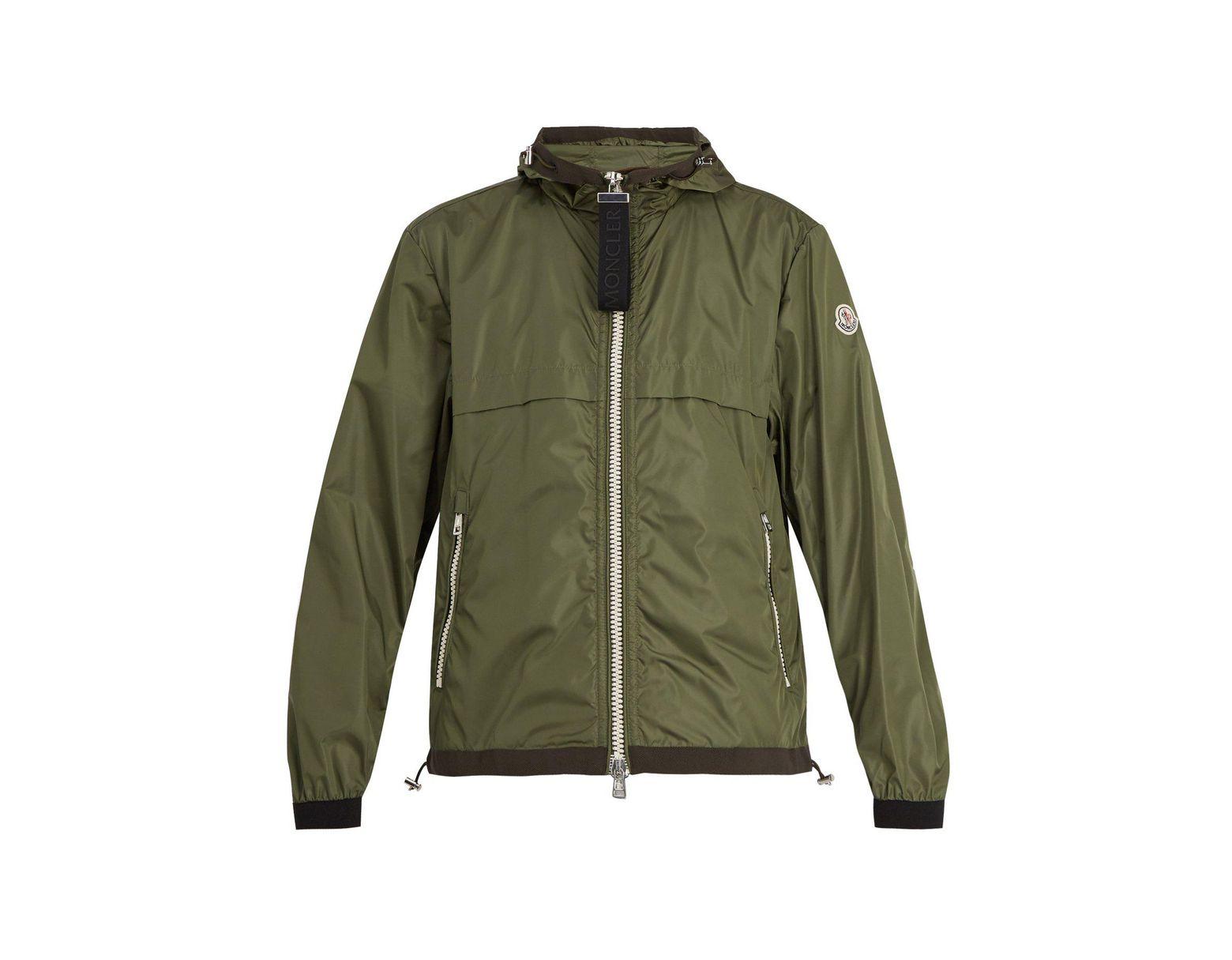 91c13db26 Men's Green Alshat Zip Through Jacket