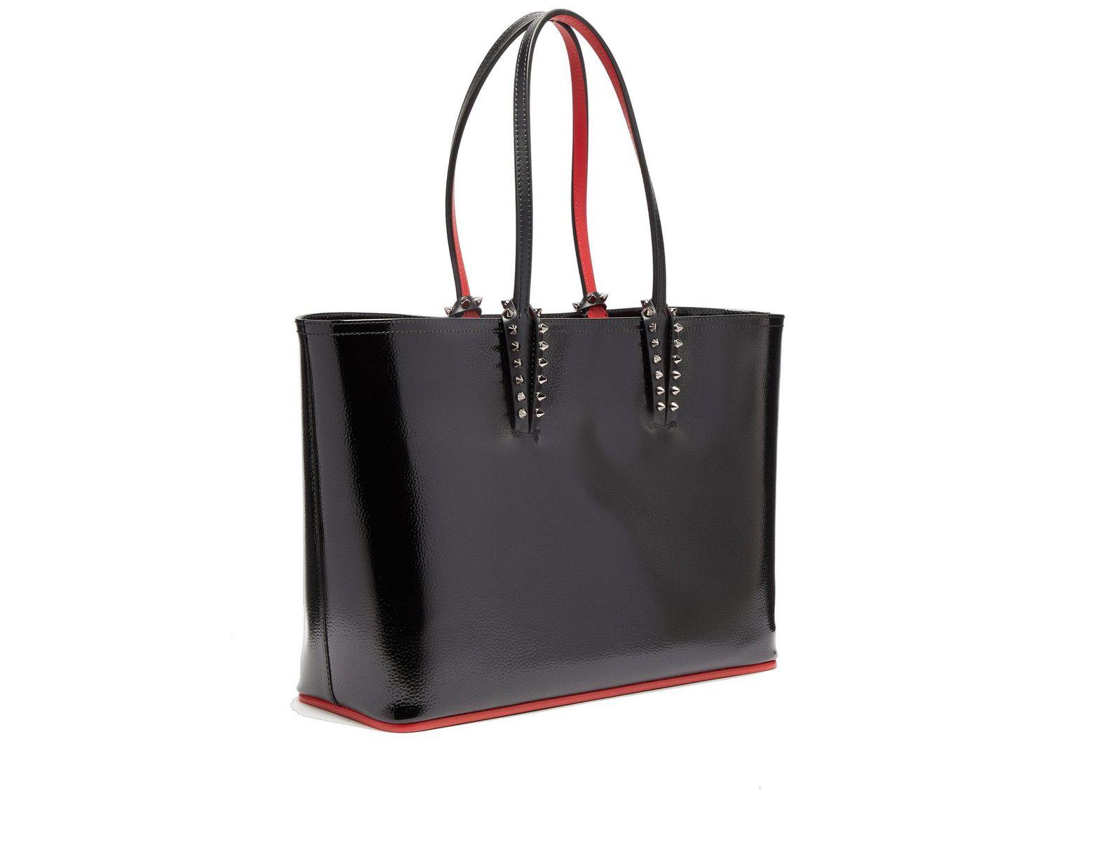 3b7cd36586e Women's Black Cabata Patent Leather Tote