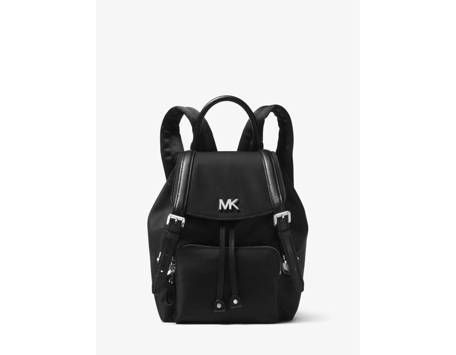 59c6dda01e5c Michael Kors Beacon Small Nylon Backpack in Black - Save 25% - Lyst