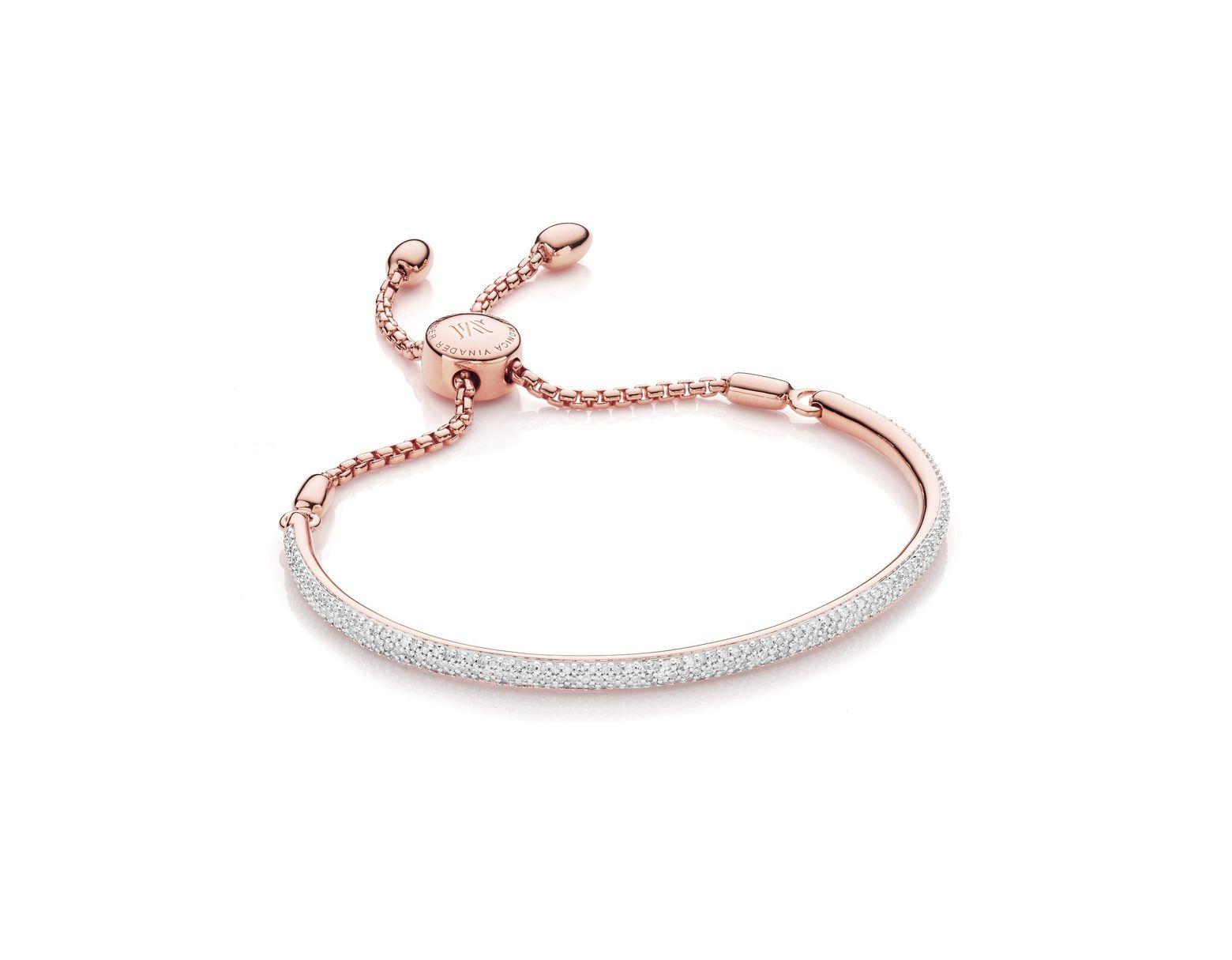 f8e8d2af64eee Women's Pink Fiji Diamond Bar Bracelet