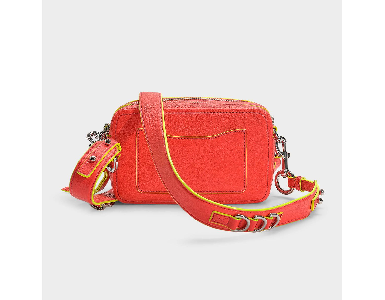 Lyst Mj Cuir À Rose The Vif Jacobs Main Sac Orange Coloris En Marc PkuOXZi