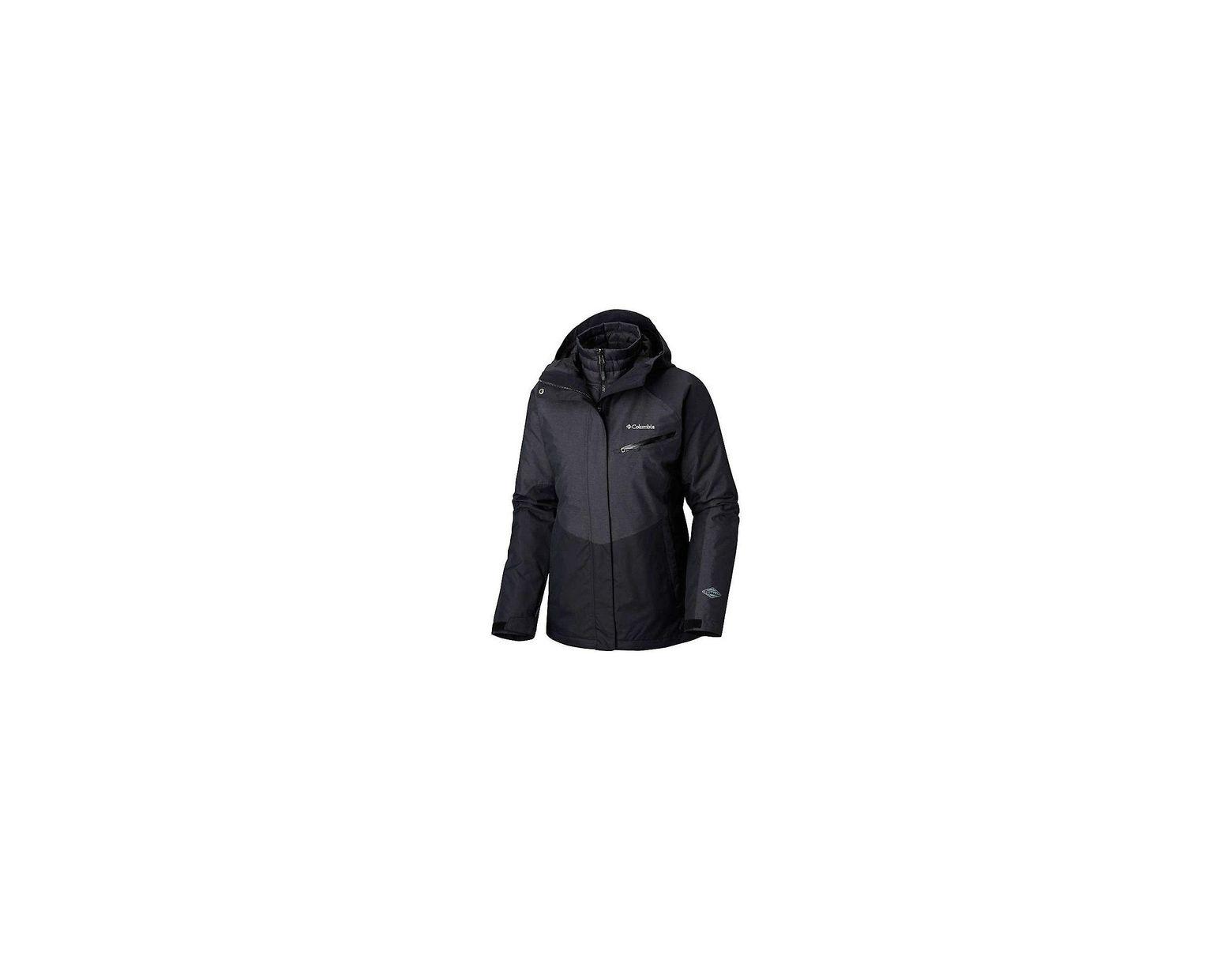 402e387fb Women's Black Sunrise Summit Interchange Jacket