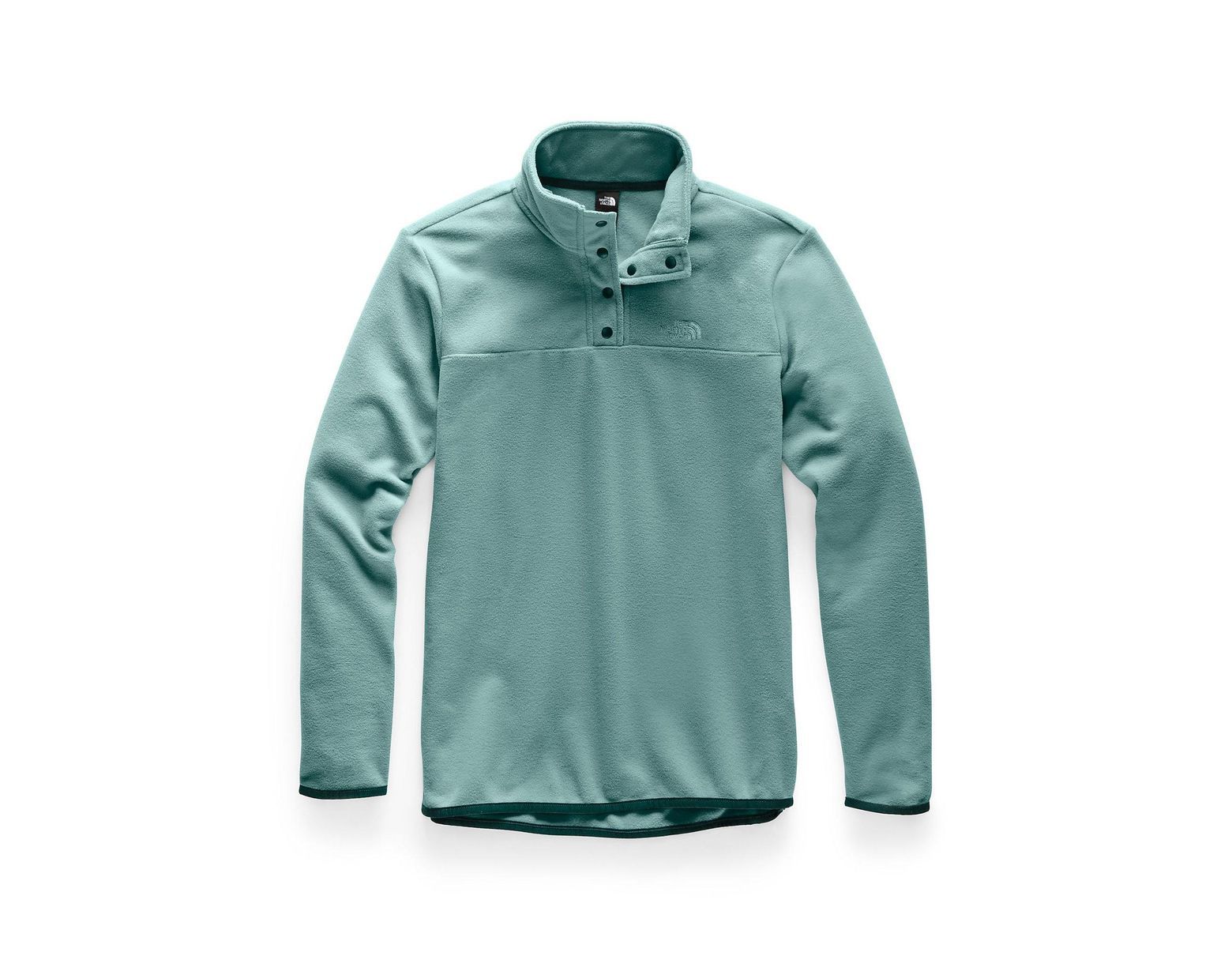 1013d36fe The North Face Tka Glacier Snap-neck Pullover in Green - Lyst