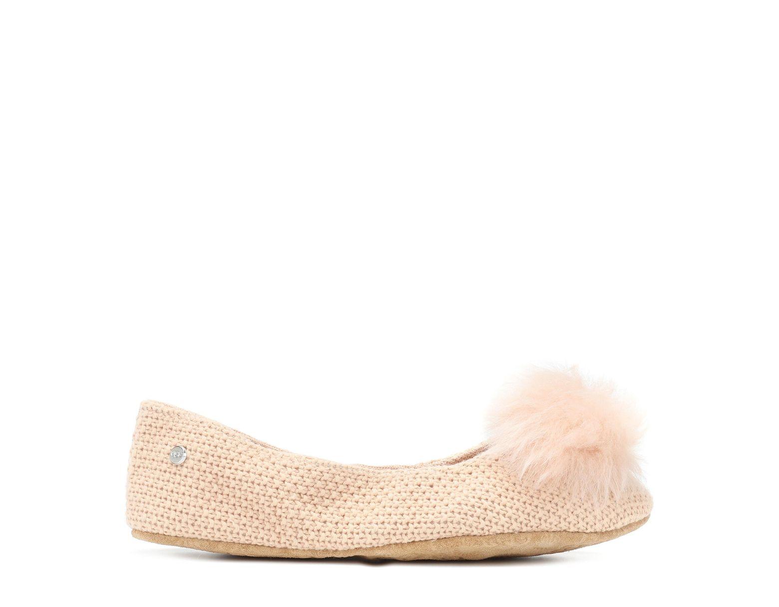 6e36785e9 UGG Andi Cotton Knit Slippers - Lyst