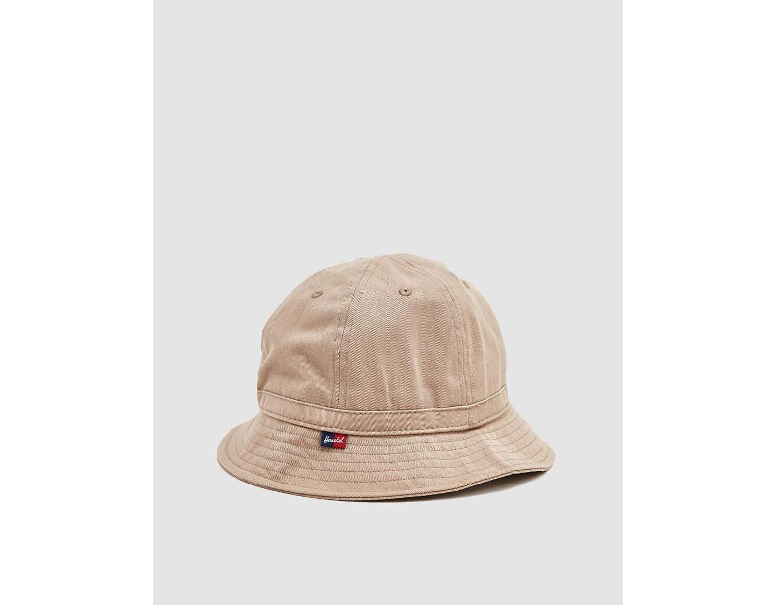 378e0f873613 Herschel Supply Co. Cooperman Bucket Hat in Natural - Lyst