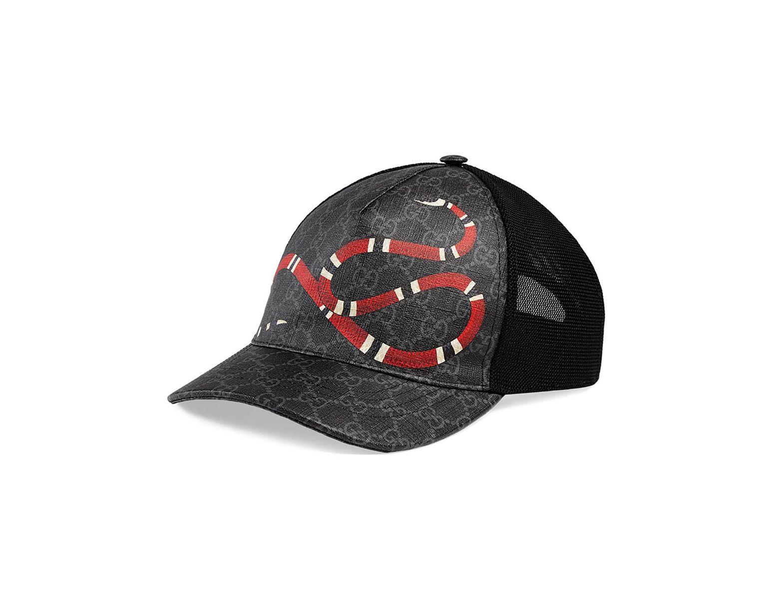 777cd1c99 Black Men's King Snake GG Supreme Baseball Cap