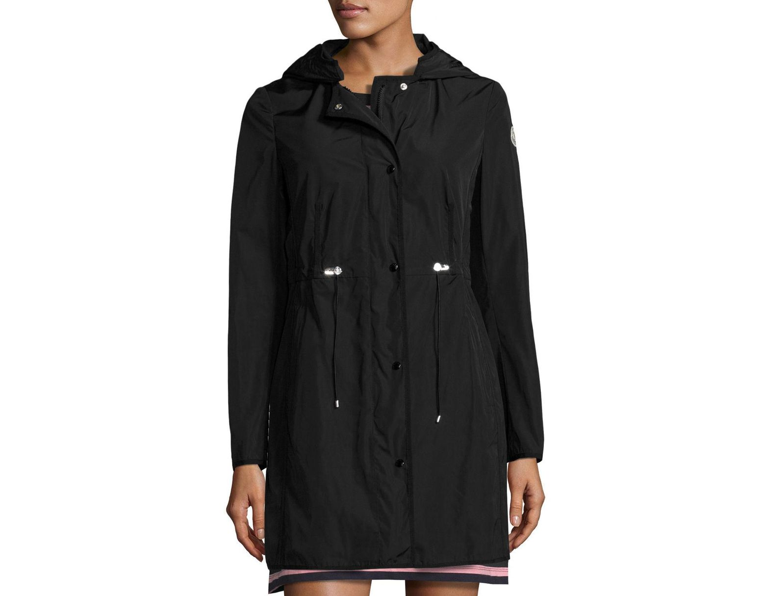eeff11489 Moncler Synthetic Anthemis Lightweight Raincoat in Black - Lyst