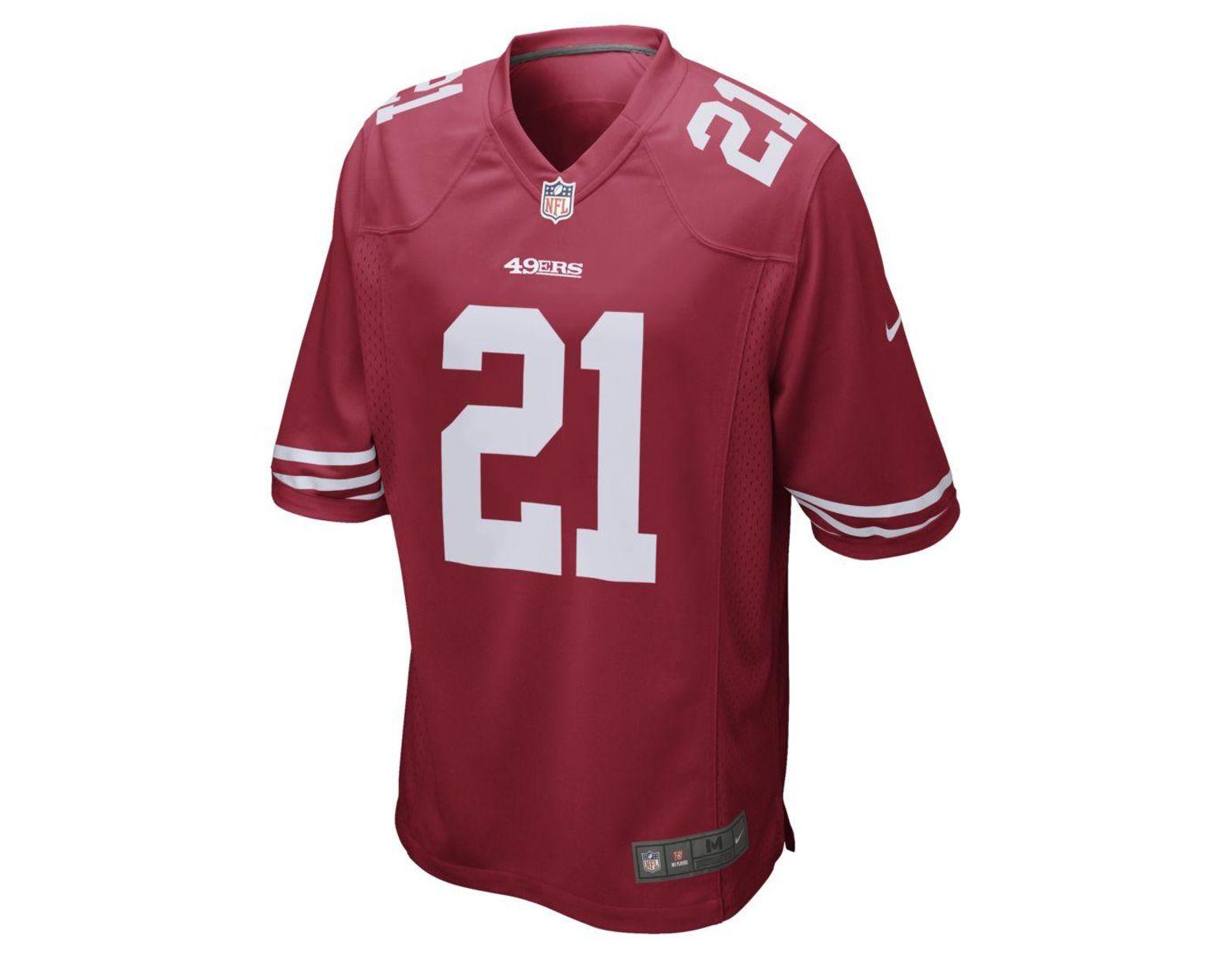 wholesale dealer efbe8 0074c Nike Nfl San Francisco 49ers Game Jersey (deion Sanders ...
