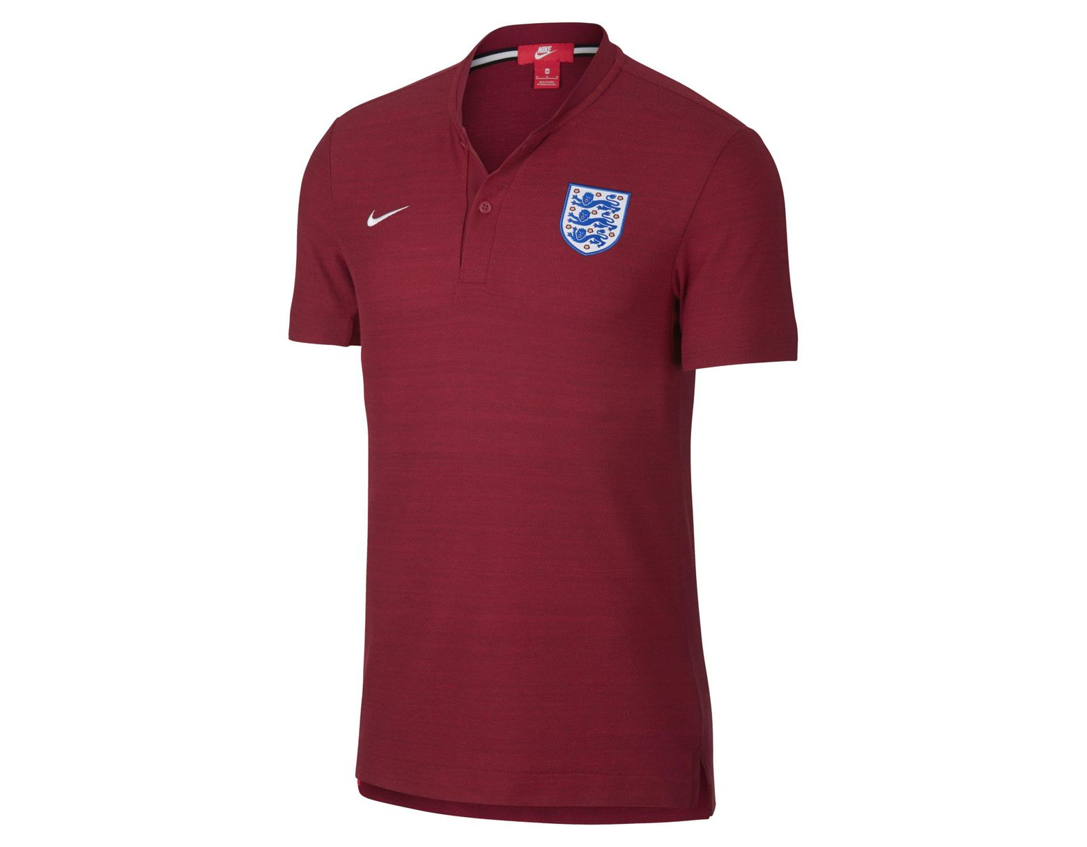 9dcaaa16c Nike England Authentic Grand Slam Polo in Red for Men - Save 14% - Lyst
