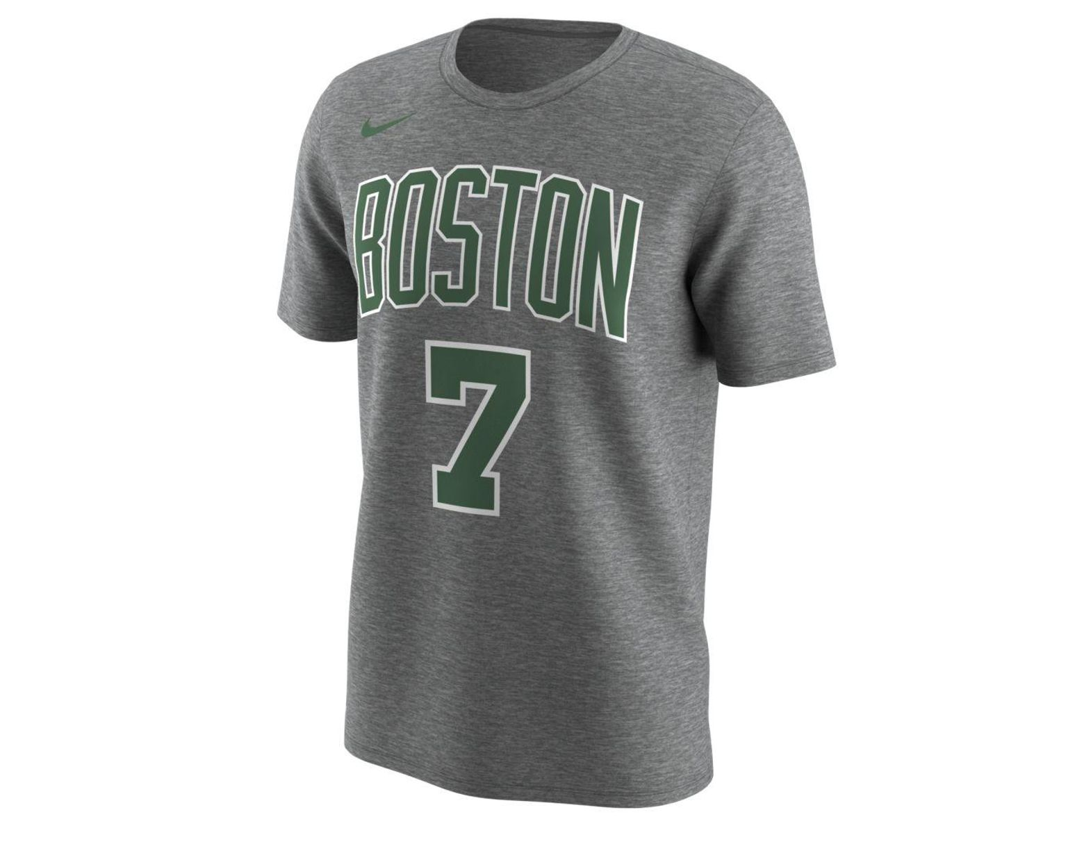 official photos 63bdd 58195 Nike Boston Celtics City Edition (jaylen Brown) Dri-fit Nba ...