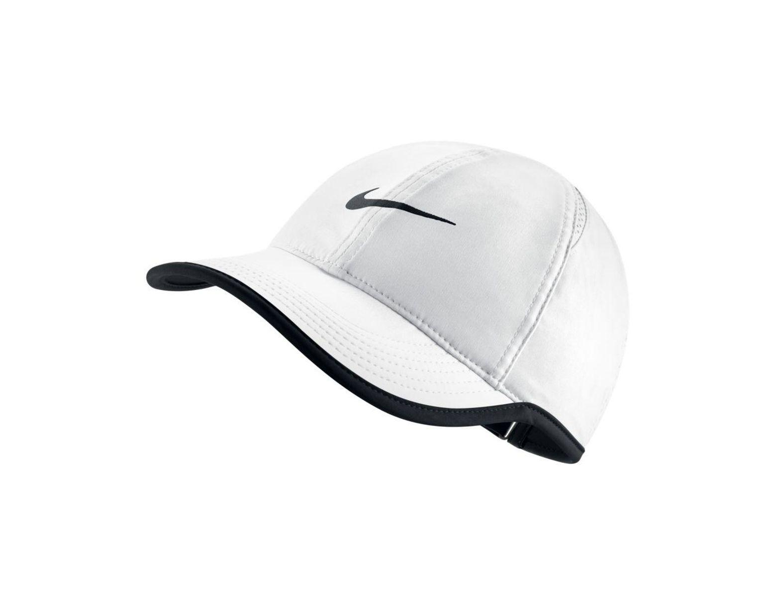 0487d1644 Women's White Court Aerobill Featherlight Tennis Cap