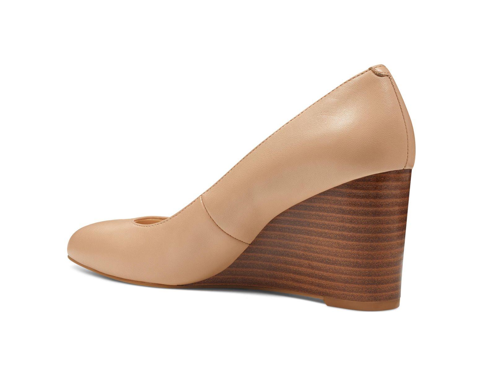 faa1d5bcb81 Women's Natural Jazzin Almond Toe Wedges