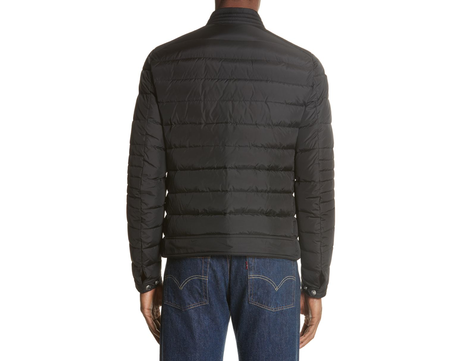 88be03ccc Men's Black Amiot Giubbotto Water Resistant Down Jacket