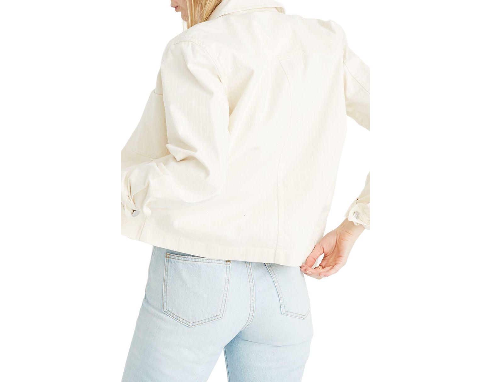 791171a68 Women's Crop Chore Jacket