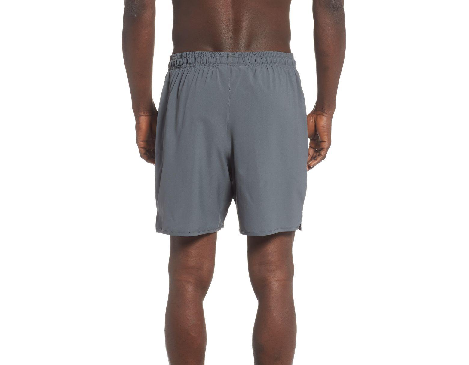 635533c25d Under Armour Dockside Volley Swim Trunks in Gray for Men - Lyst