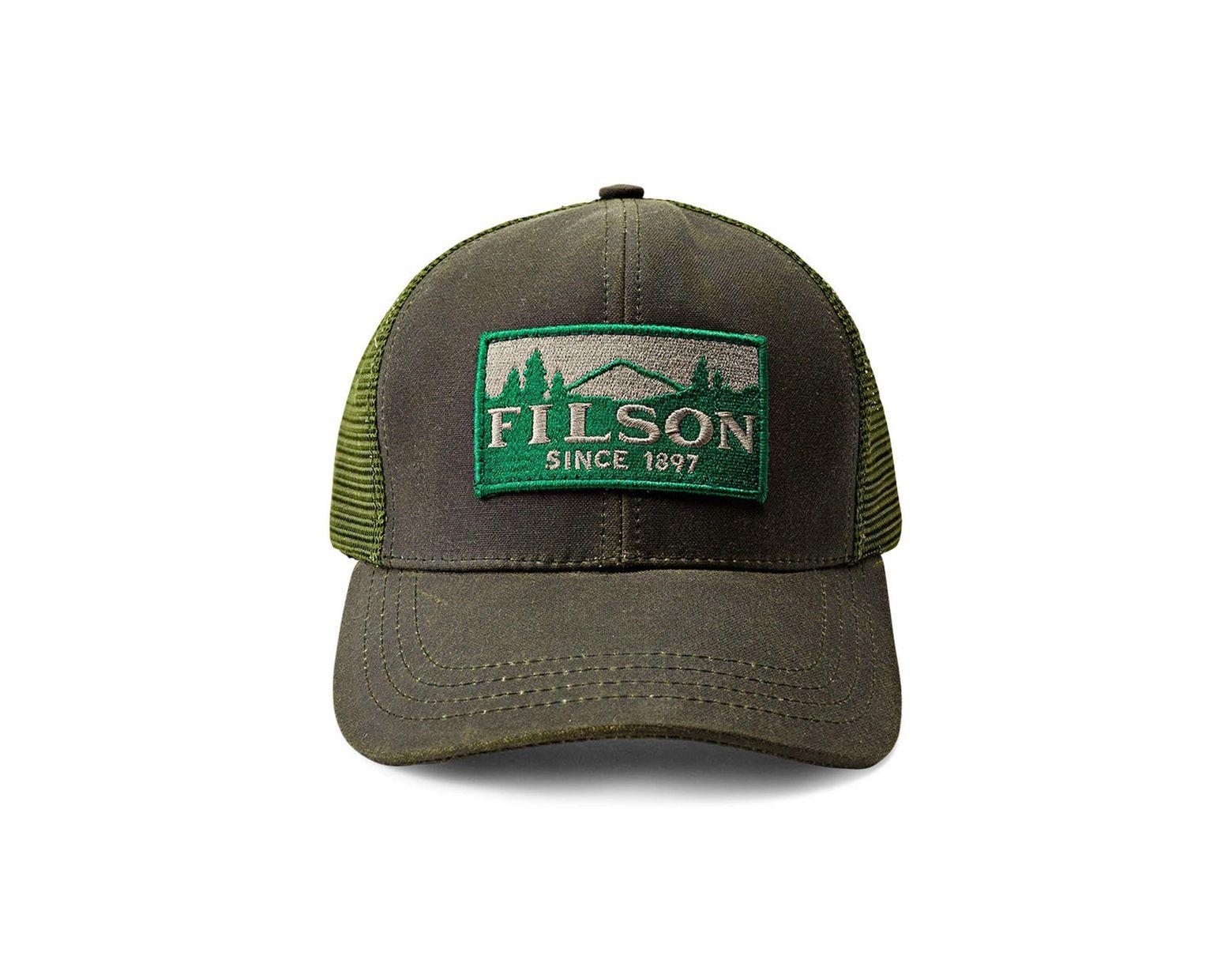 afe01bbb0759c Men's Green Logger Trucker Hat