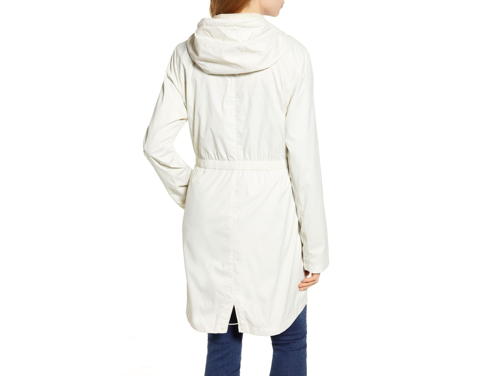 ac9b77c8c Women's White Rissy 2 Hooded Water Repellent Raincoat