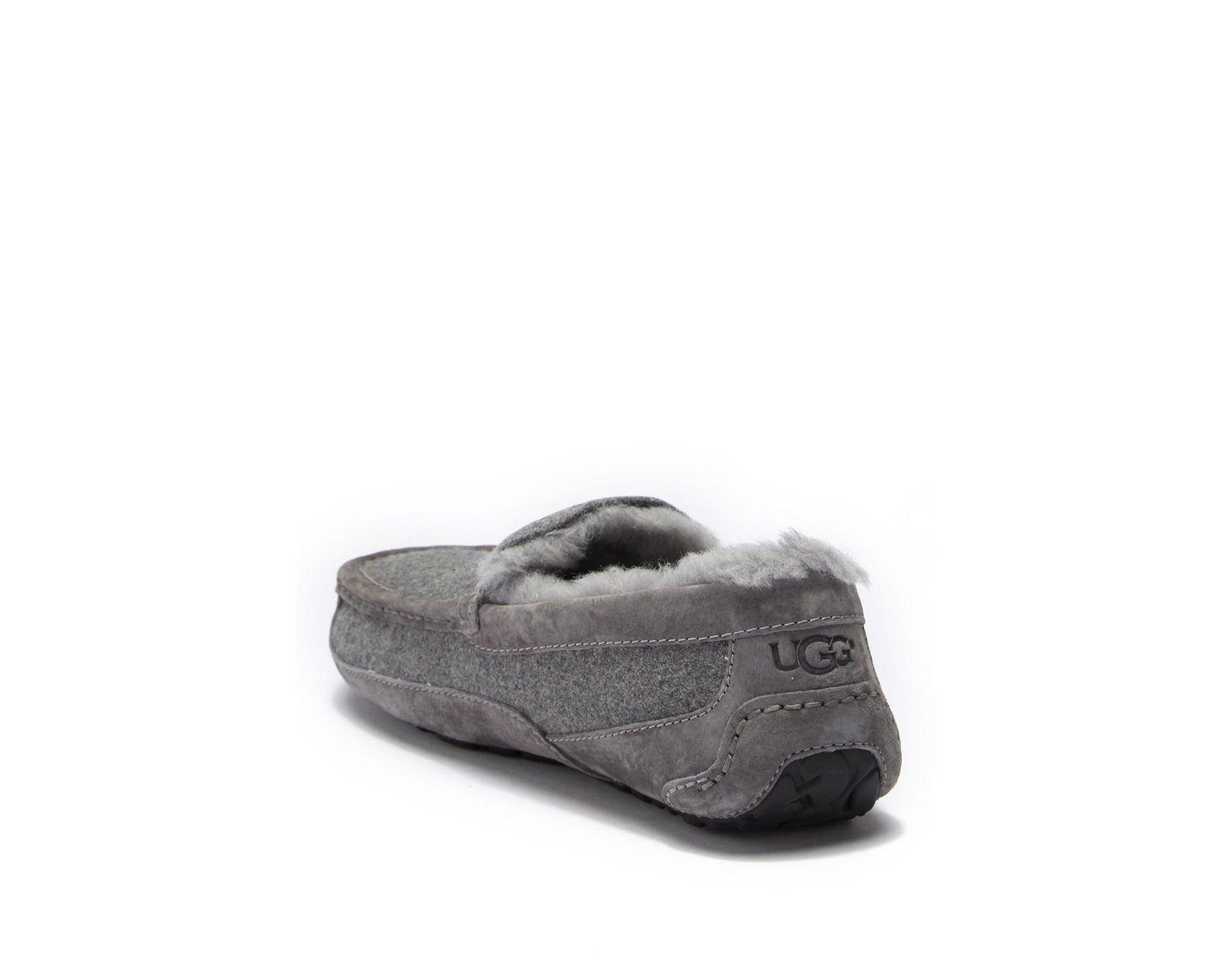 00bc82a7c31 Men's Gray Ascot Uggpure(tm) Slipper