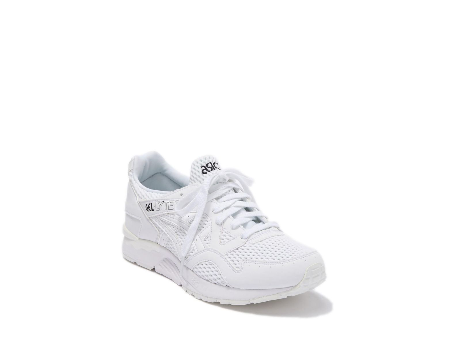 low priced f79fd fddce Men's White Gel-lyte V Knit Running Sneaker