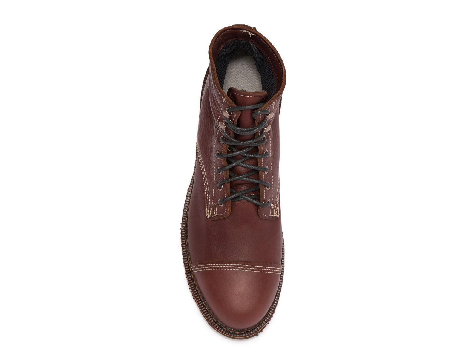 b608ab0deae Brown Jensen Cap Toe Boot (men)