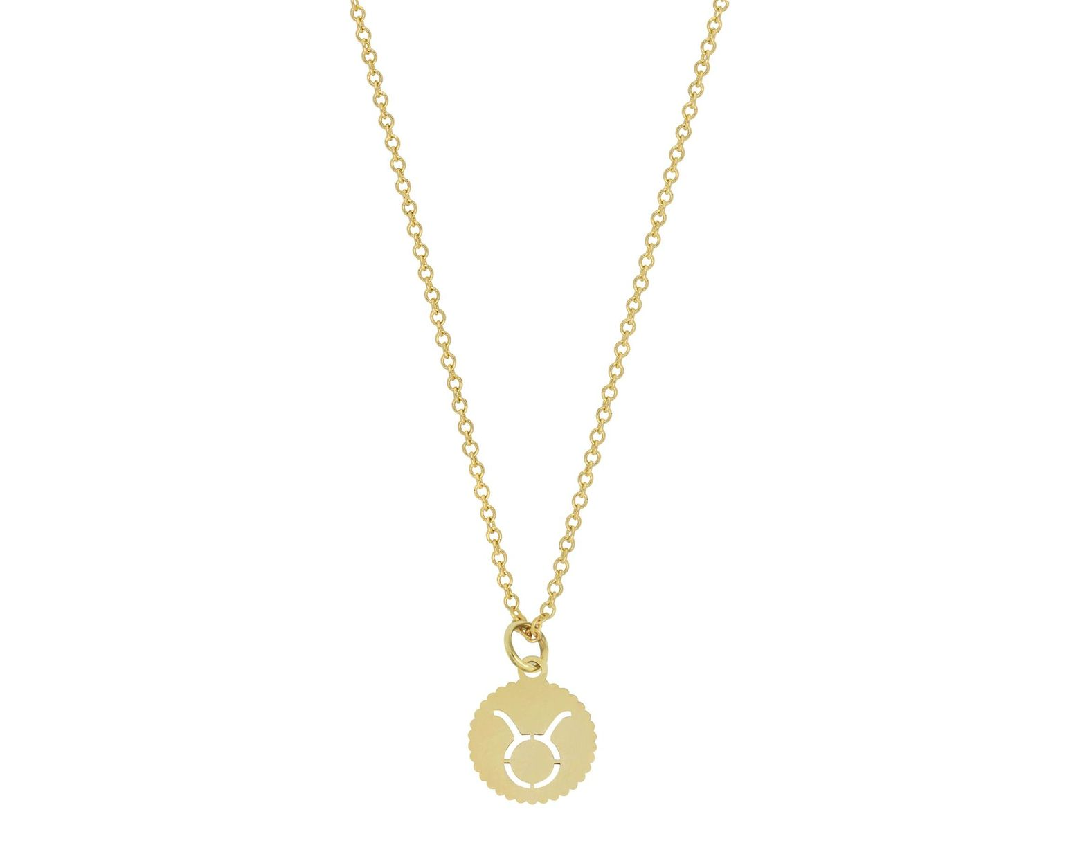 f99879182 Lyst - Bony Levy 14k Yellow Gold Petite Taurus Pendant Necklace in Metallic